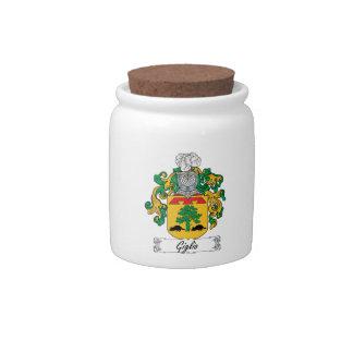 Escudo de la familia de Giglio Jarras Para Caramelos