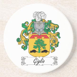 Escudo de la familia de Giglio Posavasos Cerveza