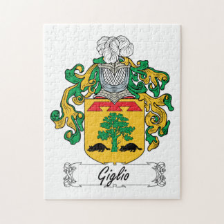 Escudo de la familia de Giglio Puzzle Con Fotos
