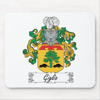 Escudo de la familia de Giglio Tapete De Ratones