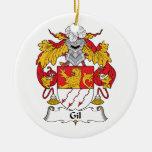 Escudo de la familia de Gil Ornamento Para Reyes Magos