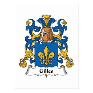 Escudo de la familia de Gil Postal