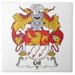 Escudo de la familia de Gil Tejas Cerámicas
