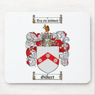 ESCUDO DE LA FAMILIA DE GILBERT - ESCUDO DE ARMAS MOUSE PAD
