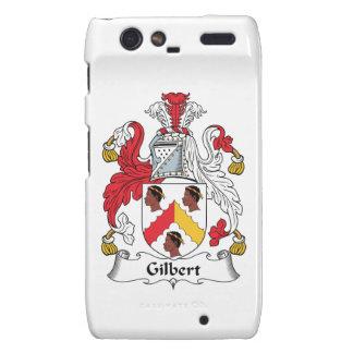 Escudo de la familia de Gilbert Motorola Droid RAZR Carcasa