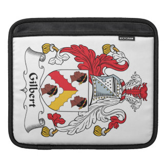 Escudo de la familia de Gilbert Funda Para iPads