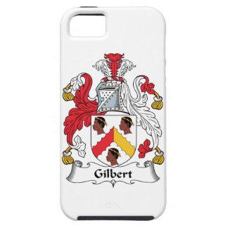 Escudo de la familia de Gilbert iPhone 5 Fundas