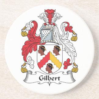 Escudo de la familia de Gilbert Posavasos Cerveza