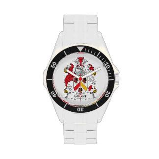 Escudo de la familia de Gilbert Reloj De Mano