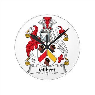 Escudo de la familia de Gilbert Reloj Redondo Mediano