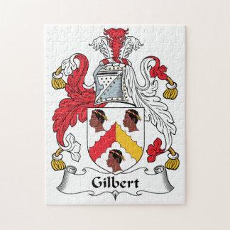 Escudo de la familia de Gilbert Rompecabeza