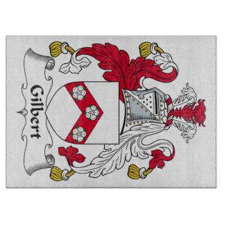 Escudo de la familia de Gilbert Tabla De Cortar