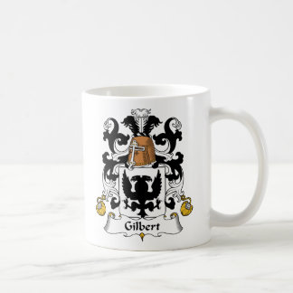 Escudo de la familia de Gilbert Taza Básica Blanca