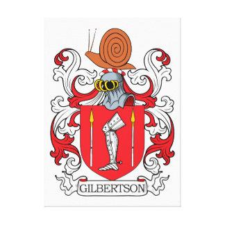 Escudo de la familia de Gilbertson Impresiones En Lona Estiradas