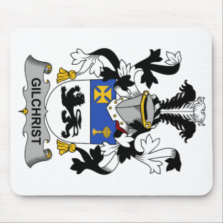 Escudo de la familia de Gilchrist Tapete De Ratones
