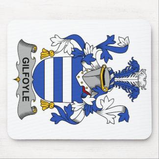 Escudo de la familia de Gilfoyle Tapete De Ratones