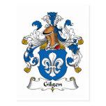 Escudo de la familia de Gilgen Postales