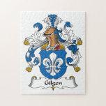 Escudo de la familia de Gilgen Rompecabezas