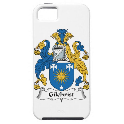 Escudo de la familia de Gillchrist iPhone 5 Fundas
