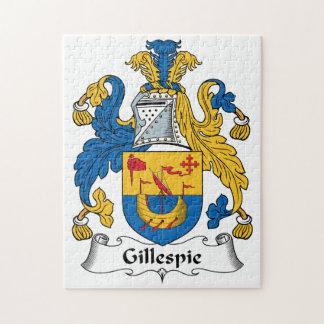 Escudo de la familia de Gillespie Rompecabeza Con Fotos