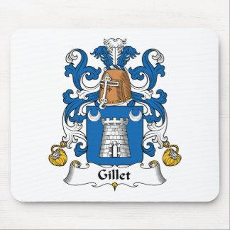 Escudo de la familia de Gillet Mousepads