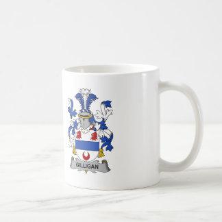 Escudo de la familia de Gilligan Taza De Café
