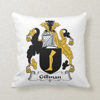 Escudo de la familia de Gillman Almohada