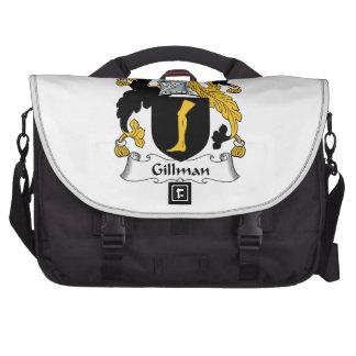 Escudo de la familia de Gillman Bolsas De Portátil
