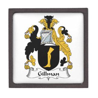 Escudo de la familia de Gillman Cajas De Joyas De Calidad
