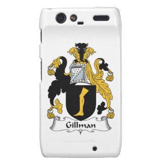 Escudo de la familia de Gillman Droid RAZR Fundas