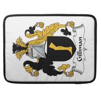 Escudo de la familia de Gillman Funda Macbook Pro