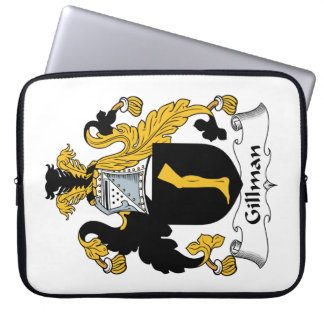 Escudo de la familia de Gillman Funda Ordendadores
