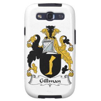 Escudo de la familia de Gillman Galaxy S3 Carcasas