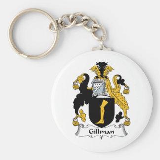 Escudo de la familia de Gillman Llaveros