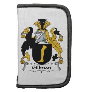 Escudo de la familia de Gillman Planificador