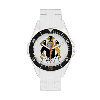 Escudo de la familia de Gillman Relojes
