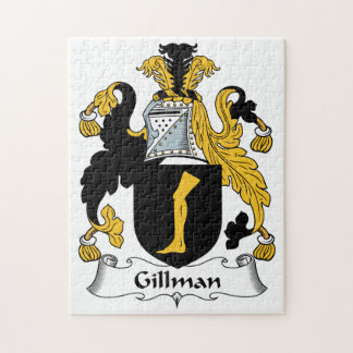Escudo de la familia de Gillman Rompecabeza