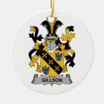 Escudo de la familia de Gillson Ornato