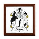 Escudo de la familia de Gilman Cajas De Regalo