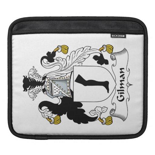 Escudo de la familia de Gilman Fundas Para iPads