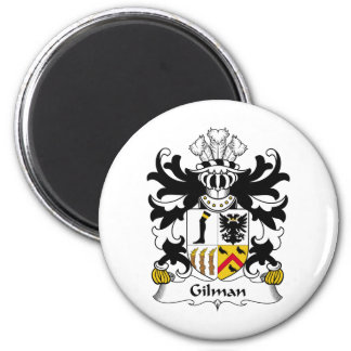 Escudo de la familia de Gilman Imán Redondo 5 Cm