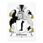 Escudo de la familia de Gilman Comunicados Personales