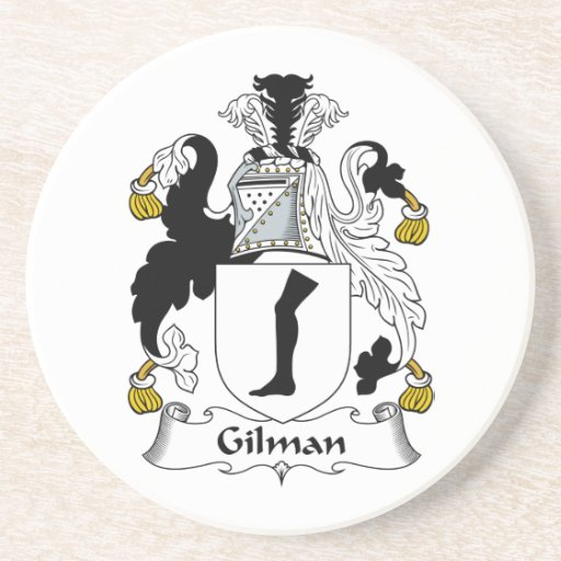 Escudo de la familia de Gilman Posavasos Cerveza