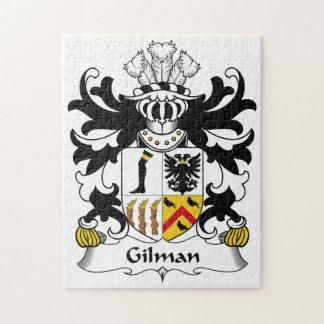 Escudo de la familia de Gilman Puzzle Con Fotos