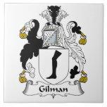 Escudo de la familia de Gilman Tejas Cerámicas