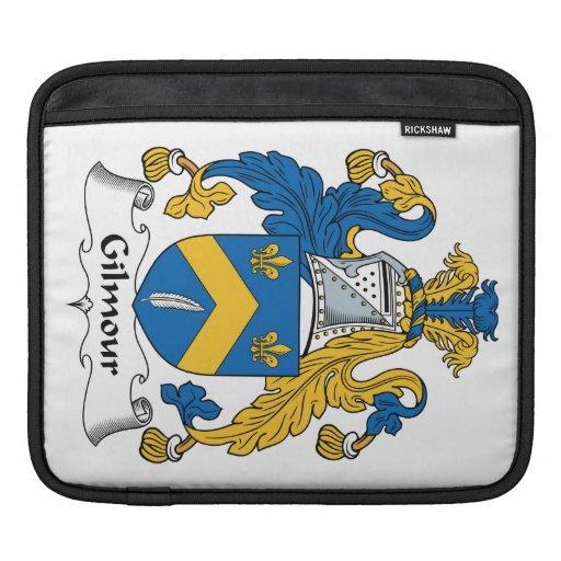 Escudo de la familia de Gilmour Funda Para iPads