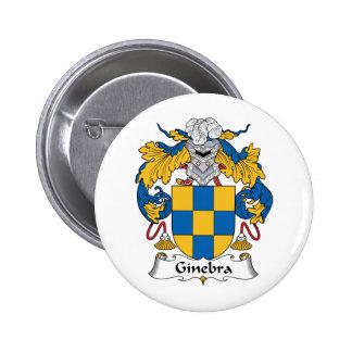 Escudo de la familia de Ginebra Pins