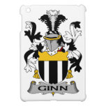 Escudo de la familia de Ginn iPad Mini Coberturas