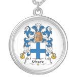 Escudo de la familia de Girard Colgantes