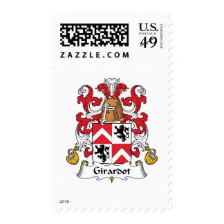 Escudo de la familia de Girardot Sellos